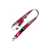 "MLB University of Louisville 1"" Lanyard with Detachable Buckle"