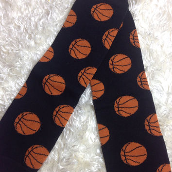 Leg Warmers-Baby leg warmers/Photo Prop unisex Basketball
