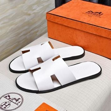 Hermes Fashion Casual Slipper Shoes-11