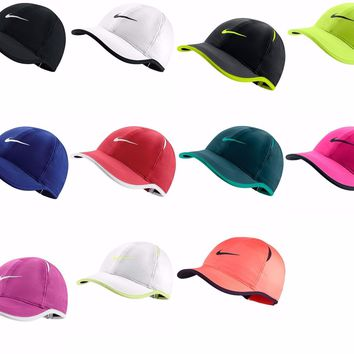 Brand NEW with Tags Authentic NIKE FEATHER LIGHT WOMENS Hat Cap Dri Fit BoxShip