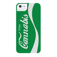 ENJOY CANNABIS IPHONE CASE