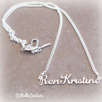 Handmade Personalized Name Necklace-Lauren Font-Personalized Jewelry
