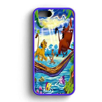 Simba Timon And Pumba iPhone 5 Case Available for iPhone 5 Case iPhone 5s Case iPhone 5c Case iPhone 4 Case