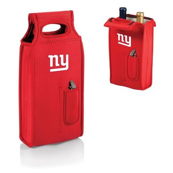 NFL New York Giants Samba Red Wine Tote W/corkscrew