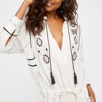 Free People Baja Romper