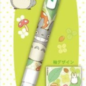 Kurutoga Sharp Pencil, Totoro / Totoro and Mei/Leaf Design (STUDIO GHIBLI) import from Japan