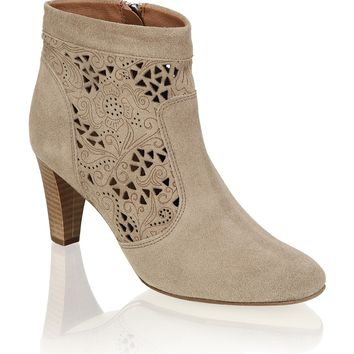 Minozzi Milano Suede Ankle Boots - beige | Shoes | Boots & Shoes