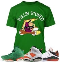 Air Jordan 6 Gatorade Sneaker Tees Shirt to Match - ROLLIN STONED