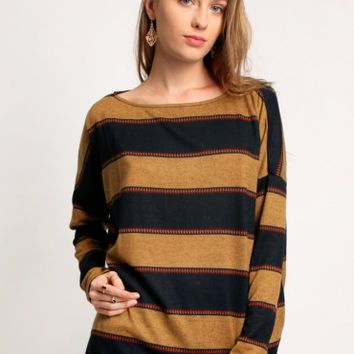 Madeline Striped Sweater