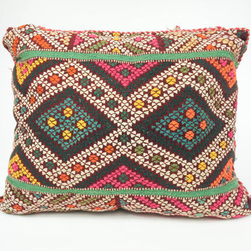Vintage Berber Pillow #6