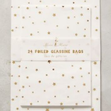 Starlight Favor Bags by Anthropologie in Gold Size: Set Of 24 Gifts