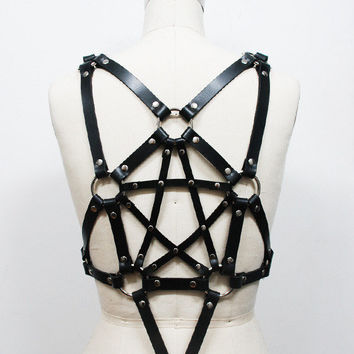 Zana Bayne Leather                                                                                   — Pentagram Harness**more colors