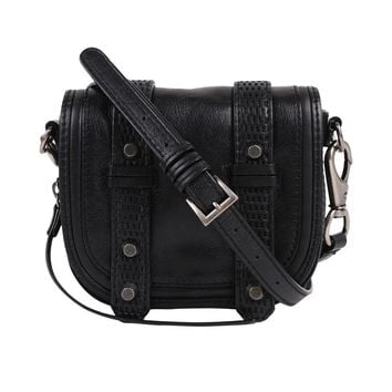 She + Lo Double Strap Front Crossbody