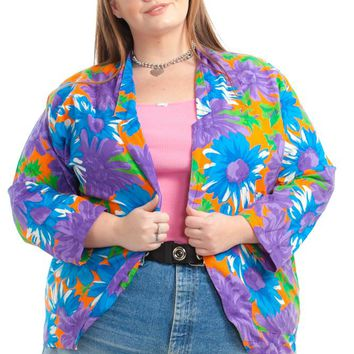 Vintage 90's A Real Work of Art Jacket - XL/2X