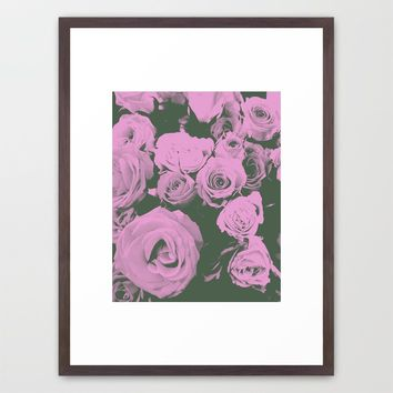 Mother May I Framed Art Print by Ducky B