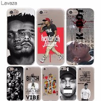 Lavaza Kendrick Lamar Cover Case for iPhone X 10 8 7 Plus 6 6S Plus 5 5S SE 5C 4 4S Cases