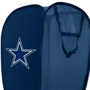 NFL Dallas Cowboys Pop-Up Hamper Football Storage Basket