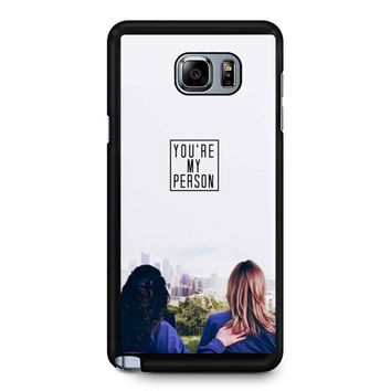 Twisted Sisters Samsung Galaxy Note 5 Case