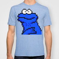 cookie monster T-shirt by DokiGraphical