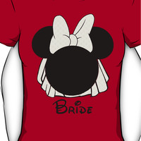 Minnie Mouse Bride Women's T-Shirt