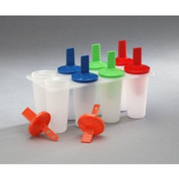 1 X Plastic Popsicle Maker (Makes 8 Pops)