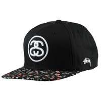 Stussy Neon Flower Snapback - Men's at CCS