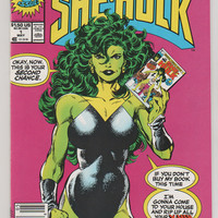 Sensational She-Hulk; V2, 1.  NM+. May 1989.  Marvel Comics