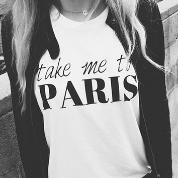 RWDZ x Outfit of Love Take Me To Paris T-Shirt