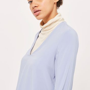 V-Neck Tunic Blouse | Topshop