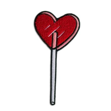 HOME :: Pins & Patches :: PATCHES :: Heart Lolli Patch