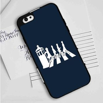 Dr Who (beatles tardis) iPhone Case
