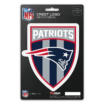 New England Patriots Decal Shield Design