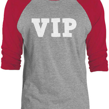 Big Texas Very Important Person (White) 3/4-Sleeve Raglan Baseball T-Shirt