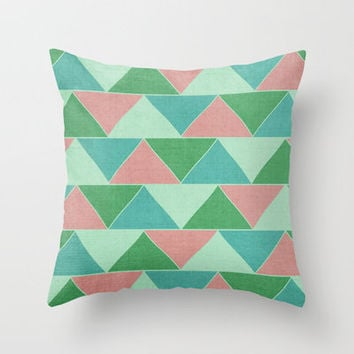 Ken & Barbie's Dream House Throw Pillow by CMcDonald | Society6