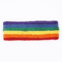 l537p - Rainbow Loop Terry Headband