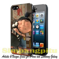 Agnes minion case for iPhone 4/4S/5/5S/5C Case, Samsung Galaxy S3/S4/S5 Case, iPod Touch 4/5 Case