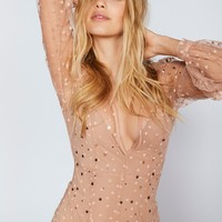 Free People All That Glitters Tulle Maxi Dress