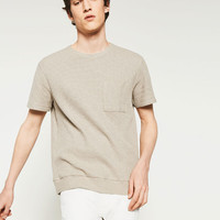 TEXTURED T - SHIRT-View all-T-SHIRTS-MAN | ZARA United States