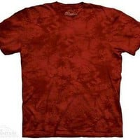 Candy Apple Solid Color Tie Dye T-Shirt