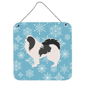 Winter Snowflake Japanese Chin Wall or Door Hanging Prints BB3537DS66