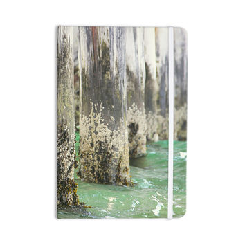 "Debbra Obertanec ""Saltwater Pylons"" Wooden Everything Notebook"