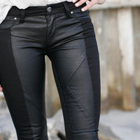 Crispy Licorice Blank NYC Denim