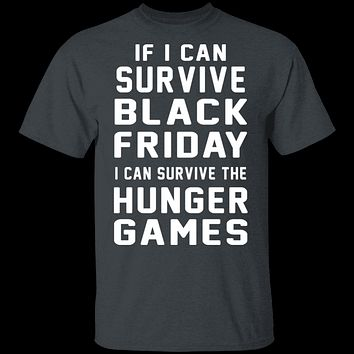 Black Friday Hunger Games Survivor T-Shirt
