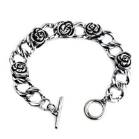 Dying Rose Gothic Bracelet Jewelry