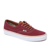 Vans Era Work Floral Shoes - Mens Shoes - Maroon