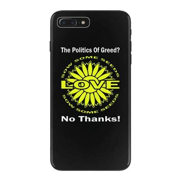 political the 80's 60's hippy anti capitalism iPhone 7 Plus Case