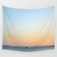 Enter Catalina Wall Tapestry by RichCaspian