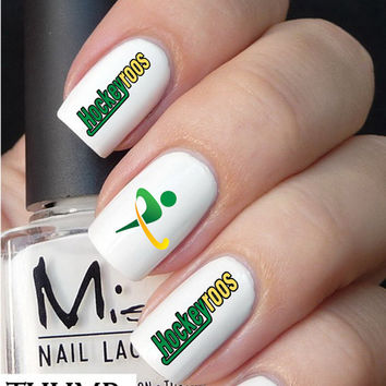 Hockeyroos nail decal