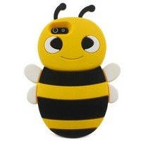 S9D 3D Animal Bee Cute Silicon Soft Back Cover Case Protecter For iPhone 4 4S:Amazon:Cell Phones & Accessories