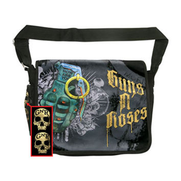 Guns N Roses Grenade Messenger Bag Black